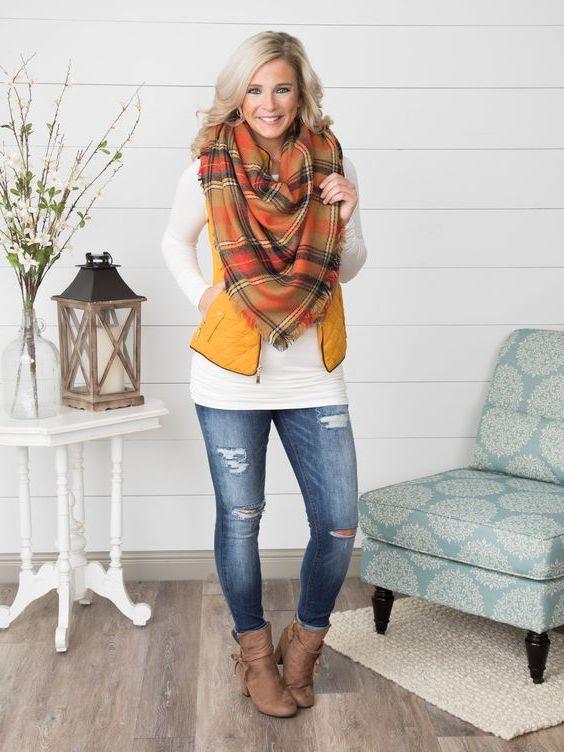 Easy Guide: Plaid Blanket Scarves For Women 2021