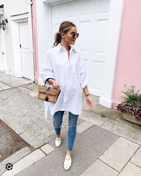 How to Wear Oversized Shirts For Women: Best Ideas To Copy 2021