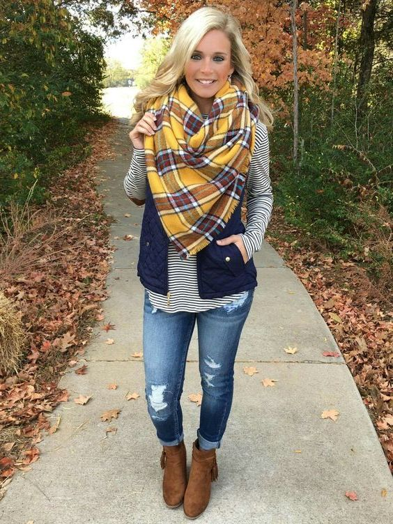 Easy Guide: Plaid Blanket Scarves For Women 2020