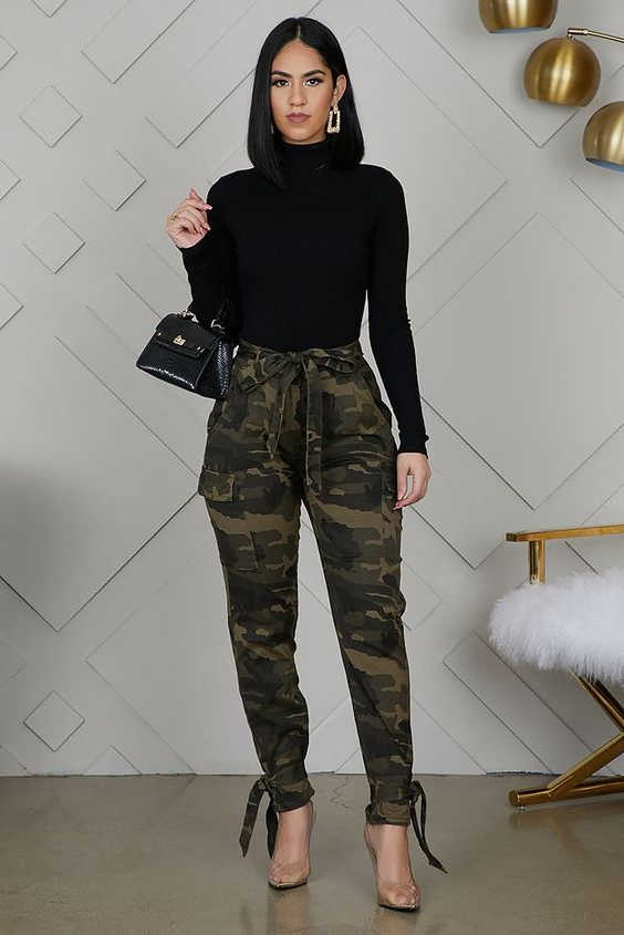 35+ Ways How To Wear Cargo Pants For Women 2021