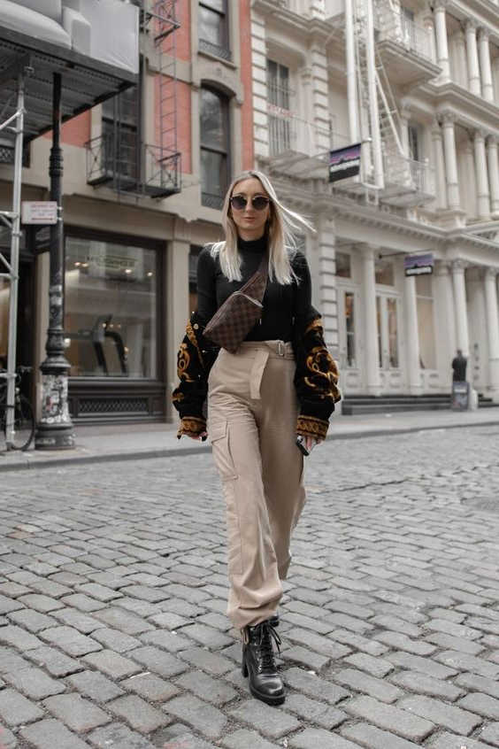 35+ Ways How To Wear Cargo Pants For Women 2020