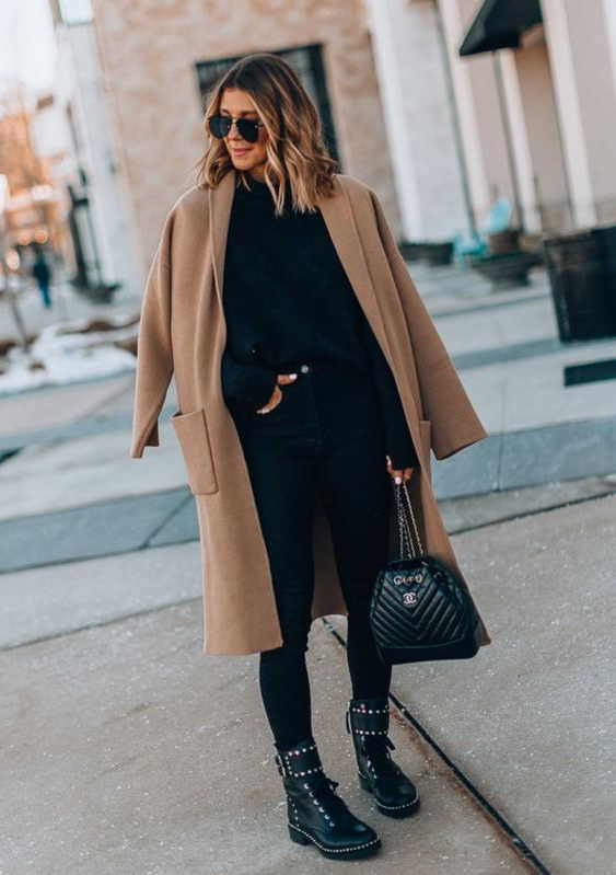 Black Leggings 44 Outfit Ideas For Women To Try Next Week 2021
