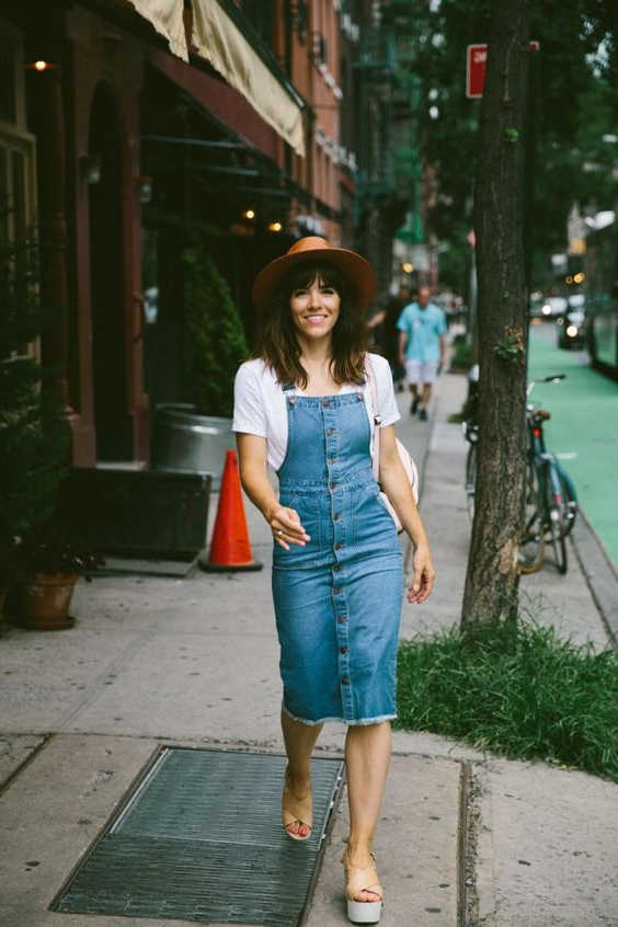 31 Stunning Denim Dresses You Should Try This Year 2021