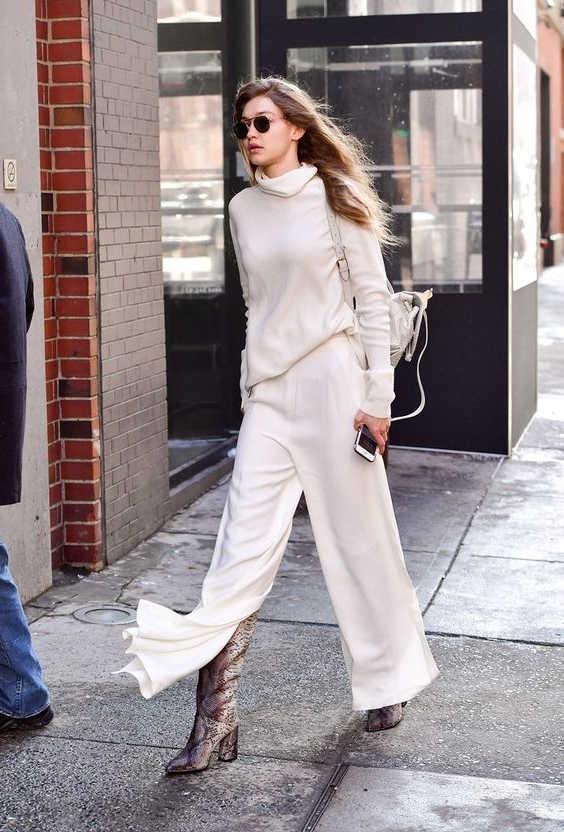 How To Wear Leg Slit Pants My Favorite Street Style Looks 2020