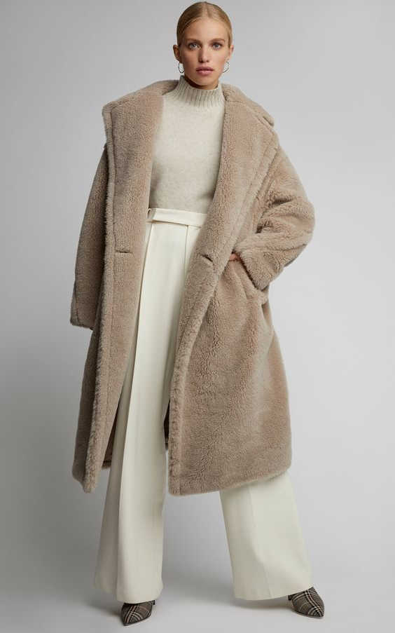 Teddy Bear Coats For Women Easy Guide For True Fashionistas 2020