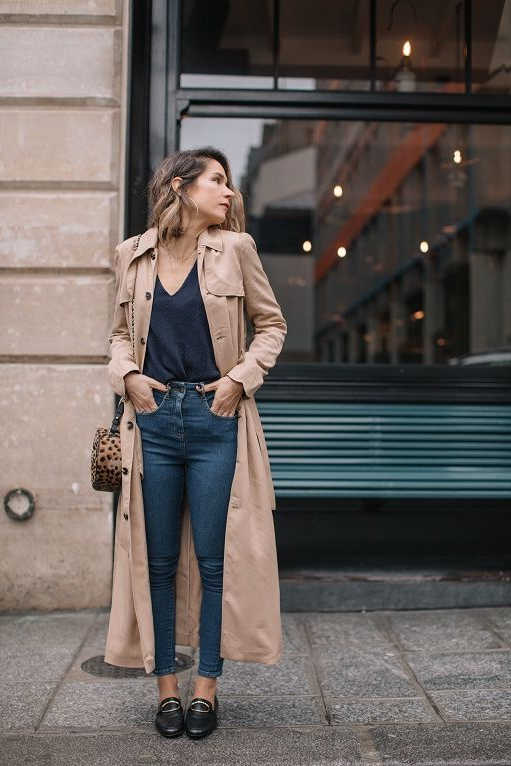 Beige Trench Coats For Women 2021