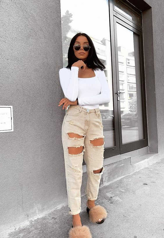 Fur Slides Outfit Ideas Easy Tricks To Make A Wow Statement 2020