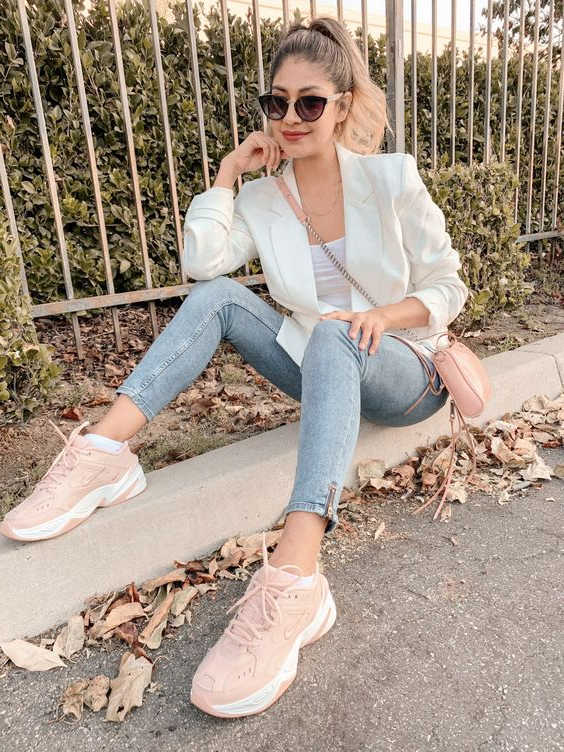 How To Wear Pink Sneakers In 23 Ways 2020