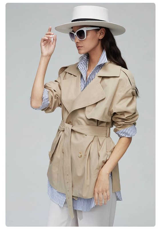 Beige Trench Coats For Women 2021
