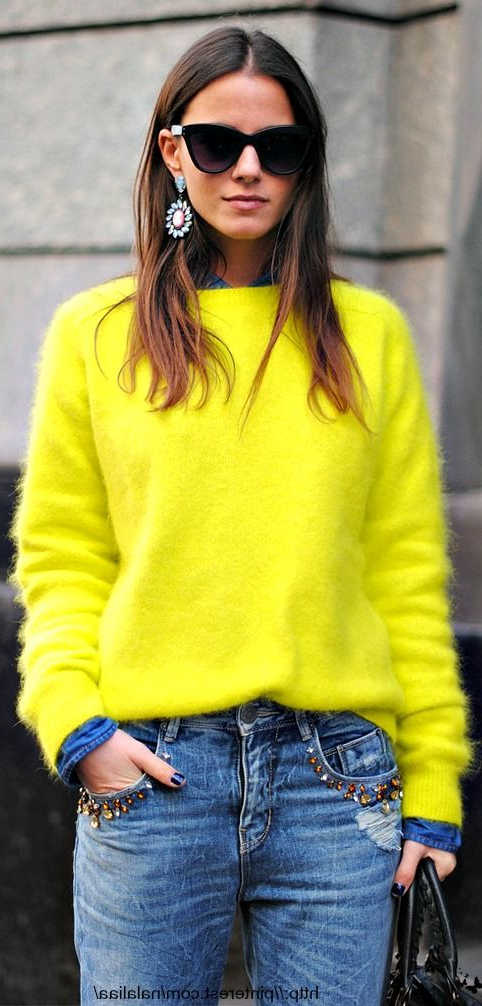 Best Sweater Colors For Spring 2021