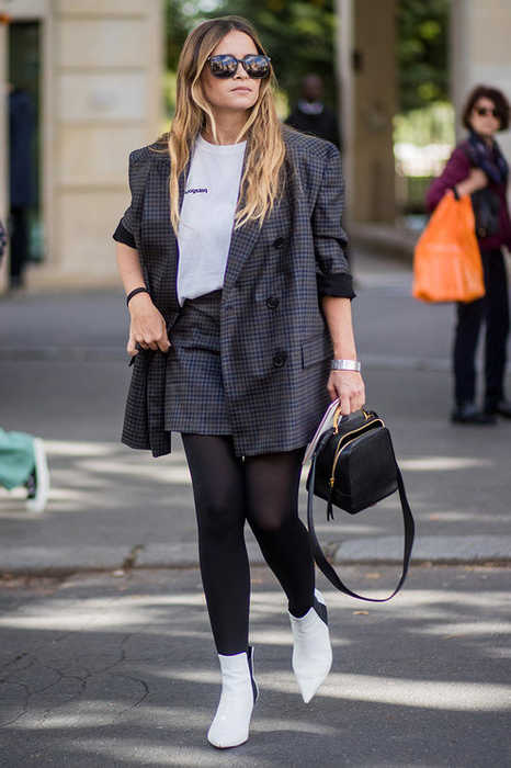 18 Easy Ways How To Wear Plaid Blazers 2021